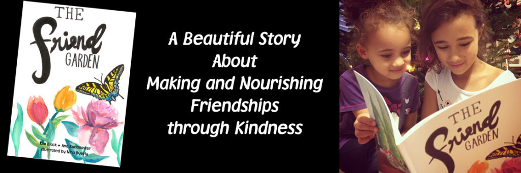 A beautiful story about making and nourishing friendships through kindness